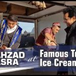 Famous Turkish funny ice cream man making fun with Dr Shahzad Basra