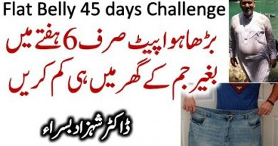 Flat belly 45 days challenge by Shahzad Basra