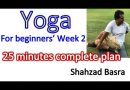 Yoga for beginners week II 30 minutes complete tutorial by Dr. Shahzad Basra