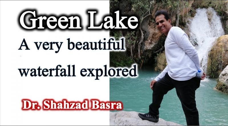 Very beautiful new waterfall and lake explored