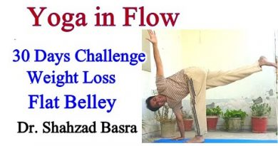 Yoga Challenge Flow 10 minutes by Shahzad Basra