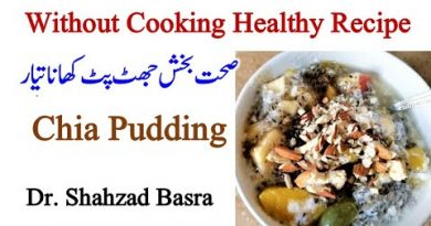 Healthy Food without Cooking